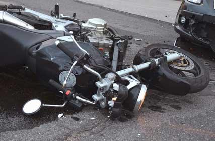 indemnizacion por accidente de moto