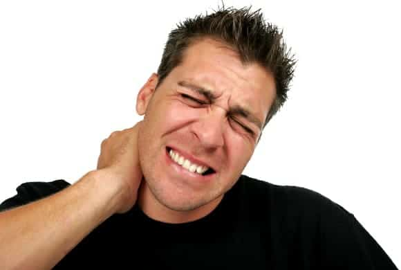 dolor cuello accidente de tráfico