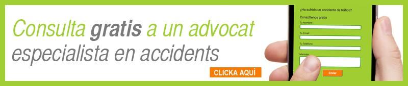 Fes una consulta amb un advocat particular especialista en accidents de trànsit.