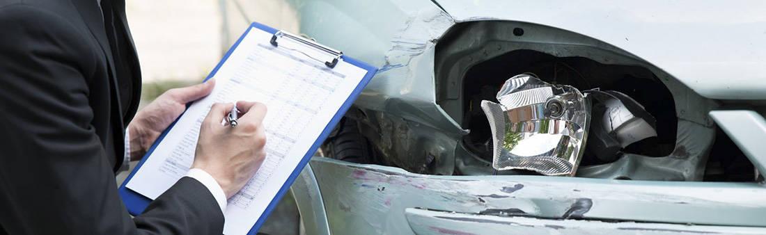 Siniestro total accidente de tráfico