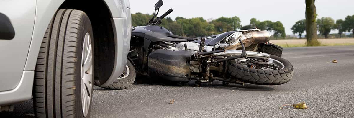 Reclamación de indemnización por accidente de moto o ciclomotor